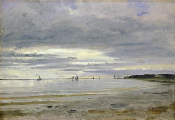 The Beach at Blankenese, 8th October 1842
