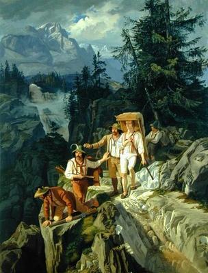Tirolese Smugglers, 1831