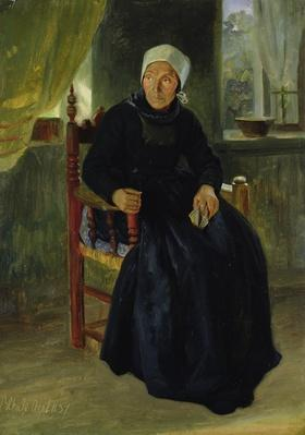 A Woman from Blankenese, 1837