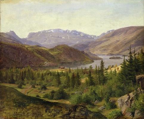 Hjelle in Valders, Tile Fjord, 1835