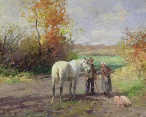 Encounter on the Way to the Field, 1897