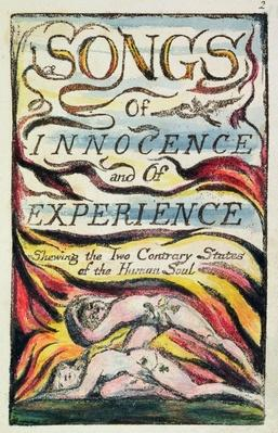 Combined Title Page from 'Songs of Innocence and of Experience', plate 2 of Bentley Copy L, c.1789-94