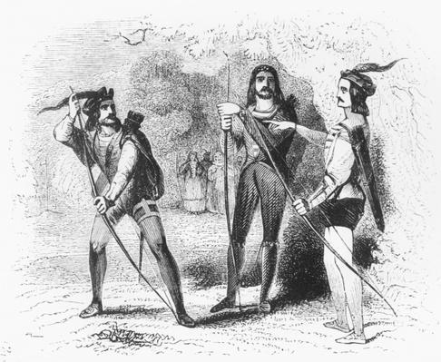 Robin Hood, Scarlet and John