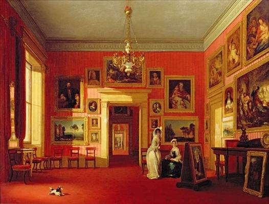 Lord Northwick's Picture Gallery at Thirlestaine House, c.1846-47