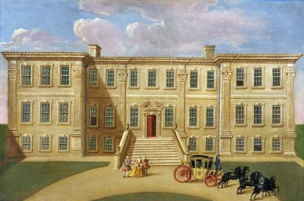 Calke Hall, Derbyshire, the Seat of Sir Henry Harpur, Baronet, c.1734