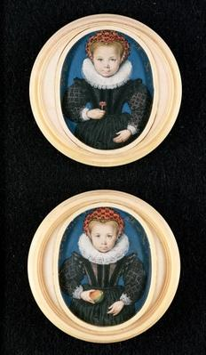 Two Little girls, 1590