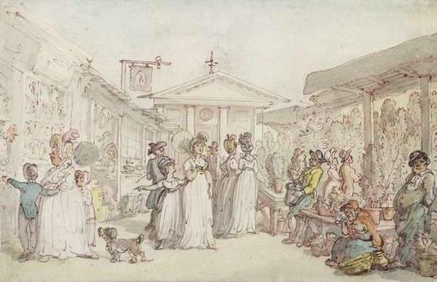 Covent Garden Market, c.1795-1810