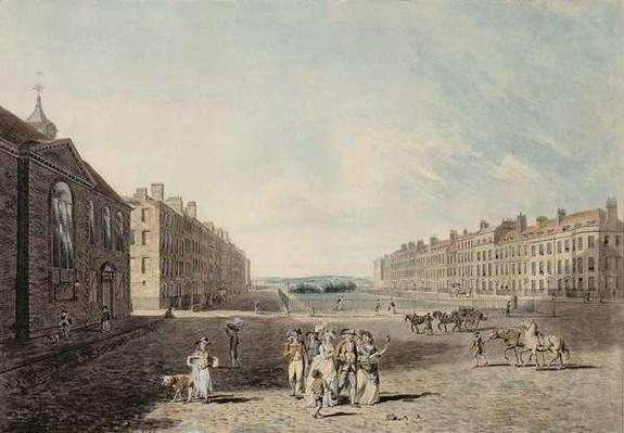 Queen Square, London, 1786