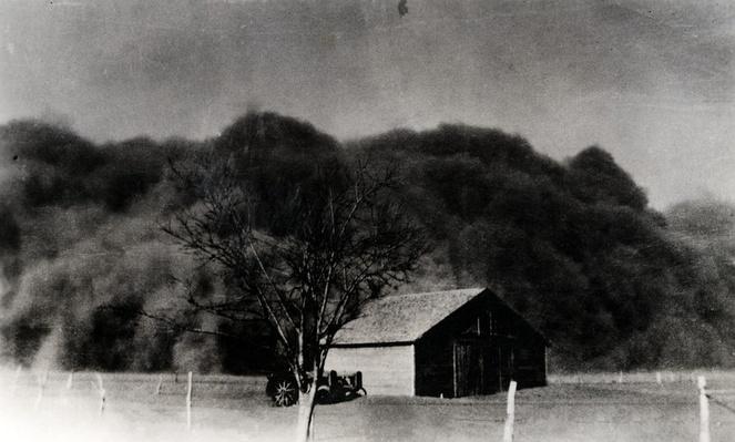 Dust Storm in Boise City, Oklahoma on Black Sunday | Ken Burns: The Dust Bowl