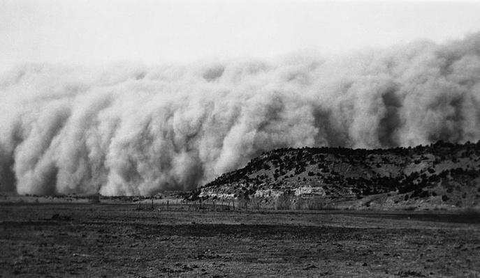 Wall of Dirt | Ken Burns: The Dust Bowl