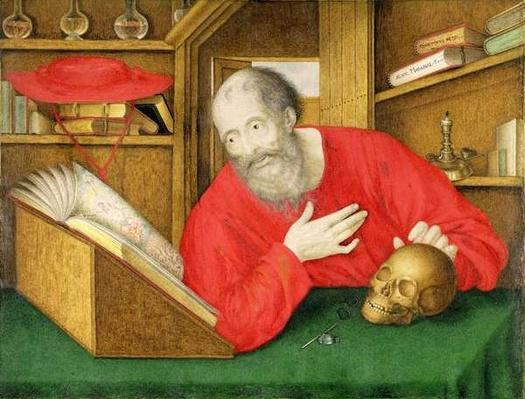 St. Jerome in his Study, 1650