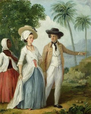 A Planter and his Wife, Attended by a Servant, c.1780