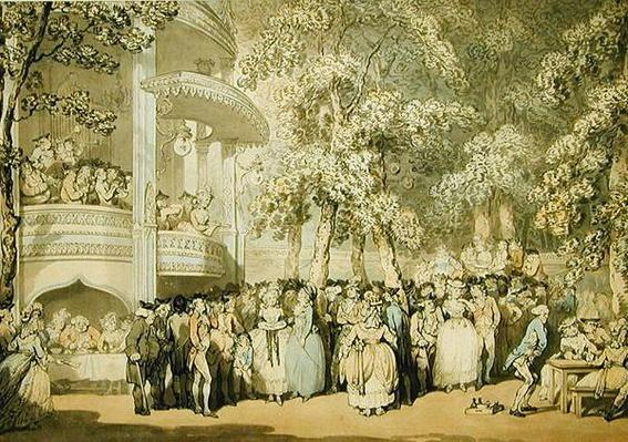 Vauxhall Gardens, c.1784