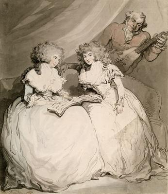 The Duchess of Devonshire and her Sister, the Countess of Bessborough