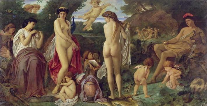 The Judgement of Paris, 1870