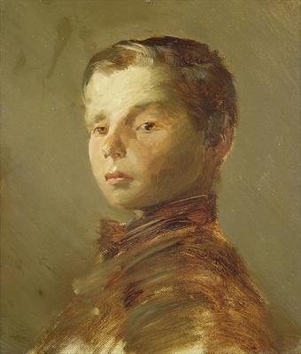 Picture of a Boy, 1875