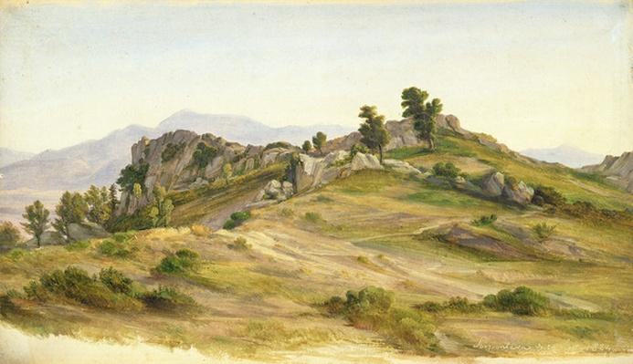 The Serpentara at Olevano, 1824