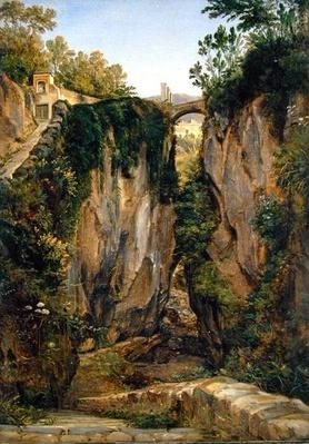 A rocky Valley in Sorrento, 1823