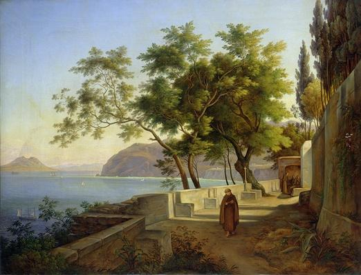 The Terrace of the Capucins in Sorrento, 1828