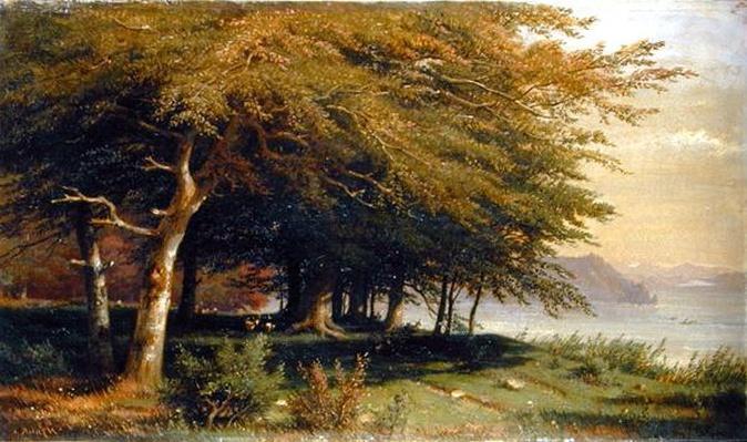 At the Chiemsee, 1842