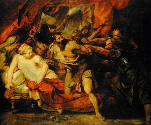 The Imprisonment of Samson, after a painting by Rubens, 1848