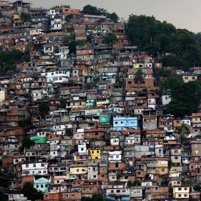 Mountianside favela in Rio de Janeiro | Human Impact on the Physical Environment | Geography