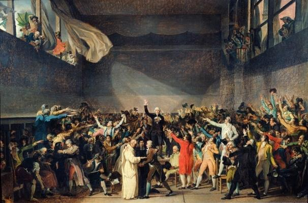 The Tennis Court Oath, 20th June 1789, 1791