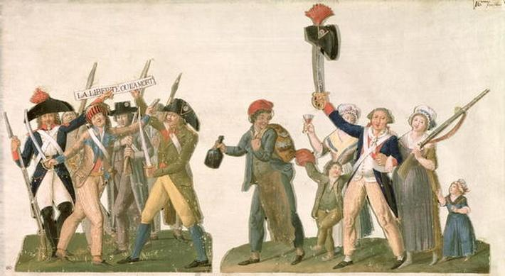 Cry of Liberty and the Departure for the Frontier, 1792
