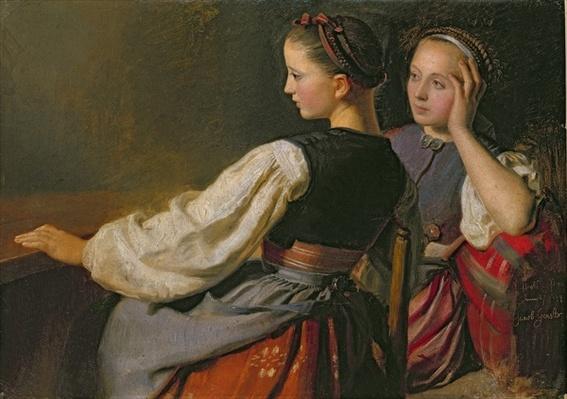 A Girl from Probsteier, 1844