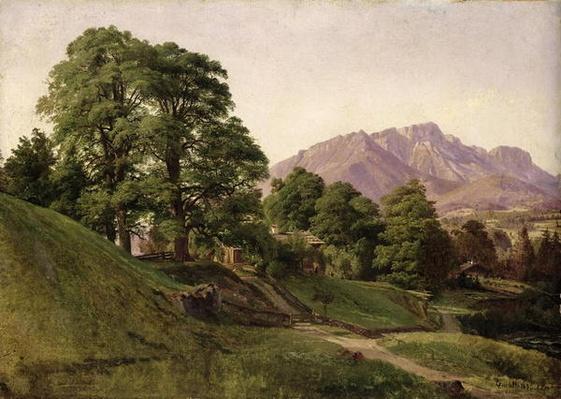 Landscape in Upper Bavaria, 1836