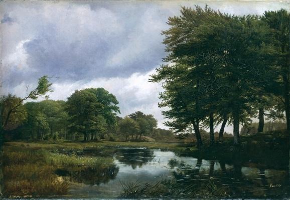 Landscape at Silkeborg, 1833