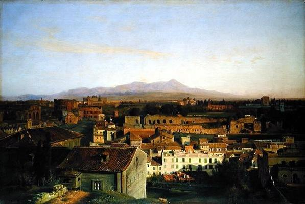 View from Rome, 1845