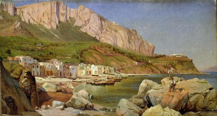 A Fishing Village at Capri