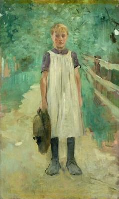 A Farmgirl, 1895