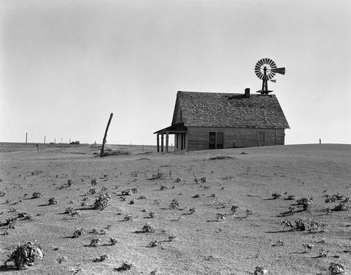 Dusted Out Farmstead | Ken Burns: The Dust Bowl