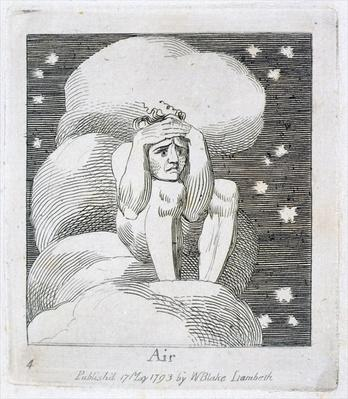 Air, plate 6 from 'For Children. The Gates of Paradise', 1793