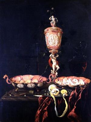 Still Life with a Goblet, 1676