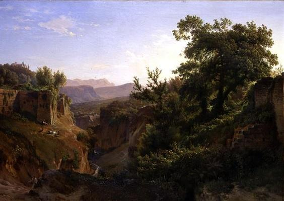 A Valley near Sorrento, 1854