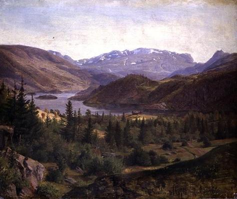 Hjelle in Valders Tile Fjord, 1835