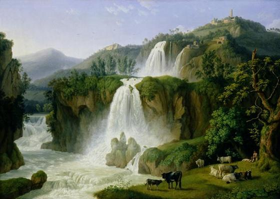 The Waterfall at Tivoli, 1785