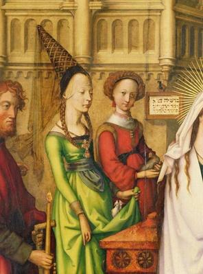 Detail of The Depiction of Christ in the Temple, 1500