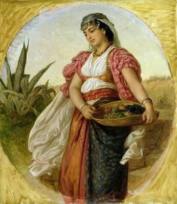 A Woman from Algiers, 1871