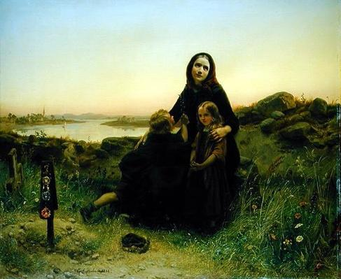 The Mourning Widow, 1852