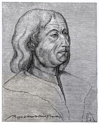 Portrait of Philippe de Commines