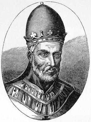 Portrait of Pope Honorius III