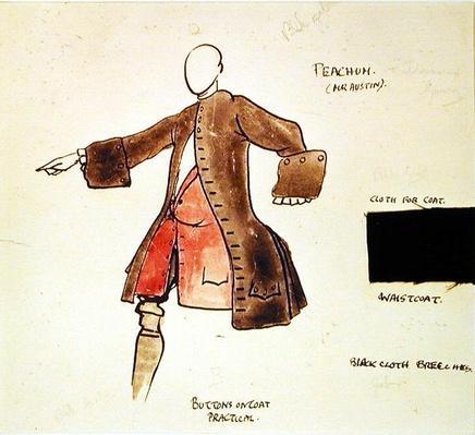 Costume design for Peacham in 'The Beggar's Opera', 1921