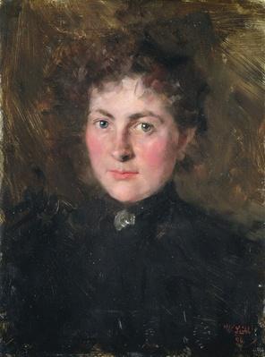 Felicia Kirchdorffer, the Niece of the Artist, 1896