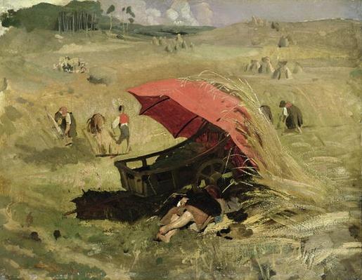 The Red Sunshade, c.1860