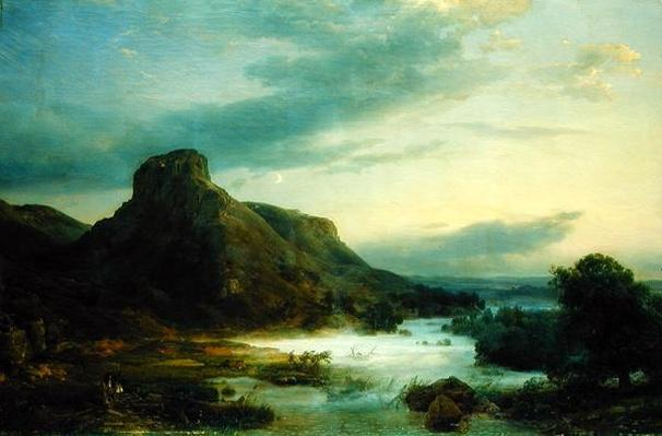 Mountains in an Evening Mist, 1856