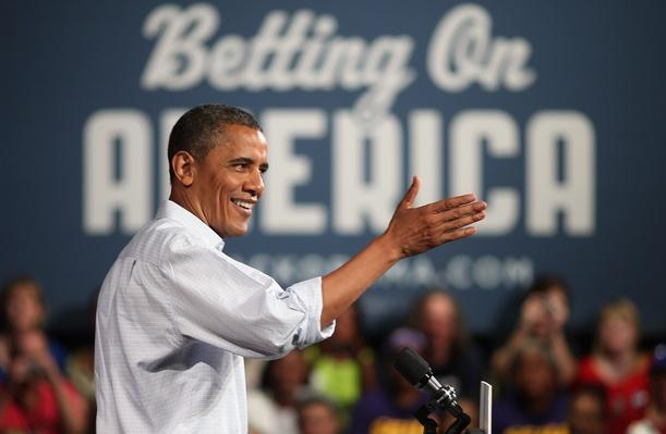 Barack Obama Goes On 2-Day Campaign Swing In Ohio And Pennsylvania | U.S. Presidential Elections 2012